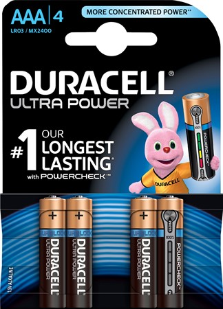 Duracell Ultra Power AAA LR03 10x4-p