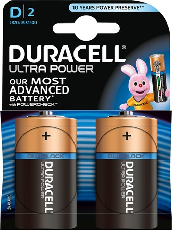 Duracell Ultra Power D LR20 10x2-p