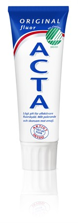 Acta Tandkräm Original 12x75ml