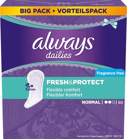 Always Normal Liner VP 4x60-p