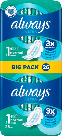 Always Ultra Normal Plus VP 8x26-p