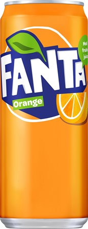 Fanta 33cl Sleek Burk 20-p