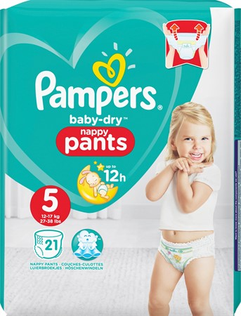 Pampers Baby Dry Pants S5 12-17kg 4x21-p CP