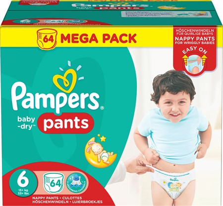 Pampers Baby Dry Pants S6 15+kg 1x64-p MB