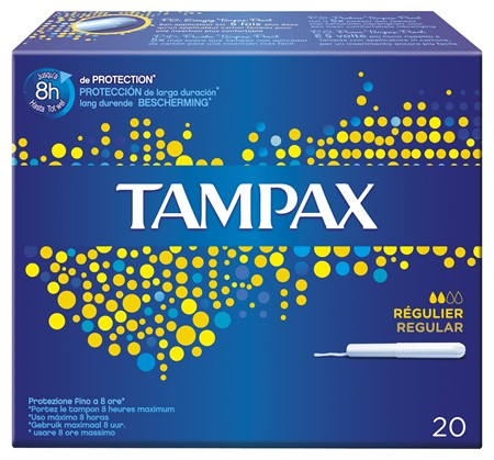 Tampax Regular 12x20st