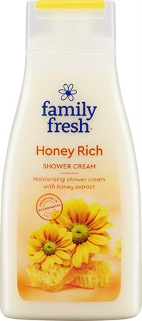Familyfresh Dusch Honey Rich 10x500ml