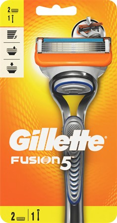 Gillette Razor Male Fusion5  2up 6x1-p
