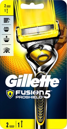 Gillette Razor Male Fusion  Proshield  6x1-p