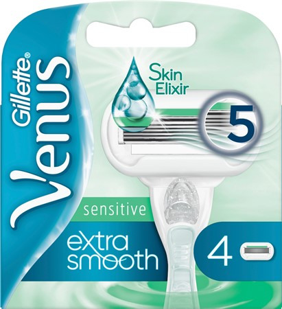 Gillette Blades Female Extra Smooth Sens  10x4-p