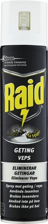 Raid Spray mot Geting 12x300ml