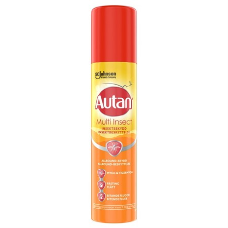 Autan Protection Plus Aerosol 6x100ml
