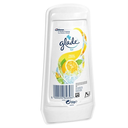 Glade Solid Gel Lemon 8x150gr