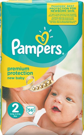Pampers New Baby S2 3-6Kg 2x56-p VP