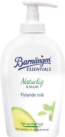 Barnängen Tvål Pump Normal Hud Nat&Mjuk 12x250ml