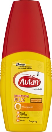 Autan Protection Plus Pumpspray 12x100ml