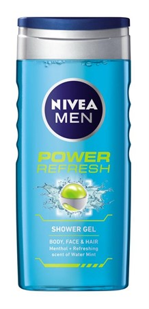 Nivea Shower MEN Power Refresh 6x250ml