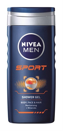 Nivea Shower Sport for Men 6x250ml