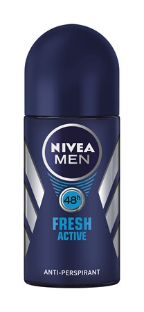 Nivea Men Deo Fresh Active Roll-on 6x50ml