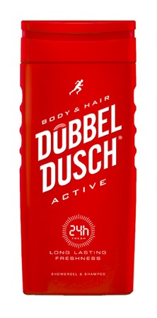 Dubbeldusch Active 12x250ml