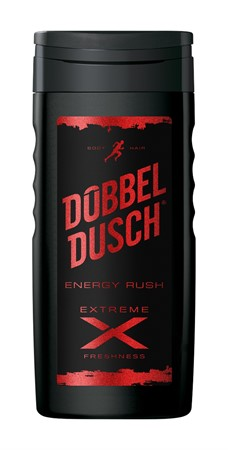 Dubbeldusch Energy Rush Extreme 12x250ml