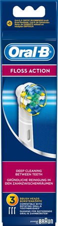 Oral-B Tandborstrefill Floss Action 6x3-p