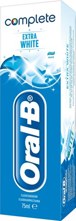 Oral-B Tandkräm Complete Extra White 12x75ml
