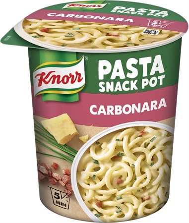 Knorr Snackpot Carbonara 8x68g