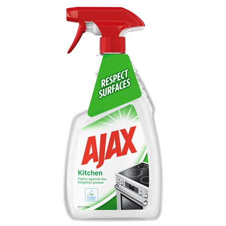 Ajax Kitchen & Grease Spray 12x750ml