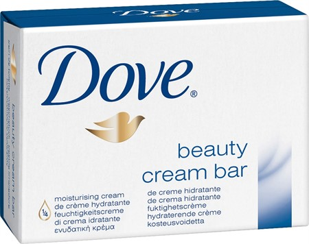 Dove Fast Tvål Cream Bar 48x100gr